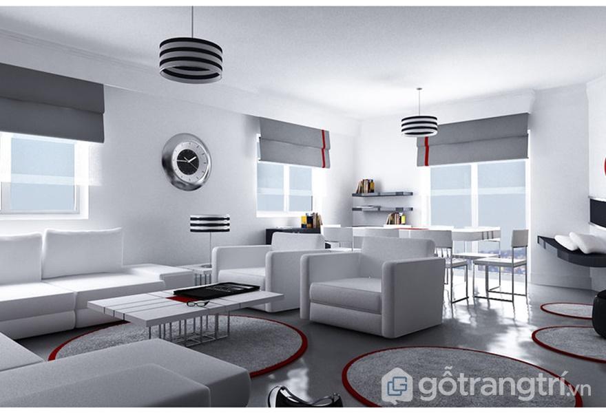 Tính hiện đại, đa chức năng được thể hiện trong căn hộ (ảnh internet)