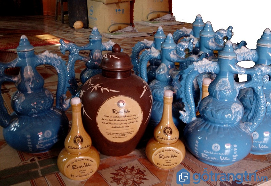 Rượu làng Vân trở thành thương hiệu nổi tiếng của đất Kinh Bắc (Ảnh: Internet)