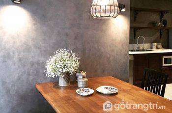 Sơn giả bê tông - Vật liệu nội thất mới trong trang trí nội ngoại thất