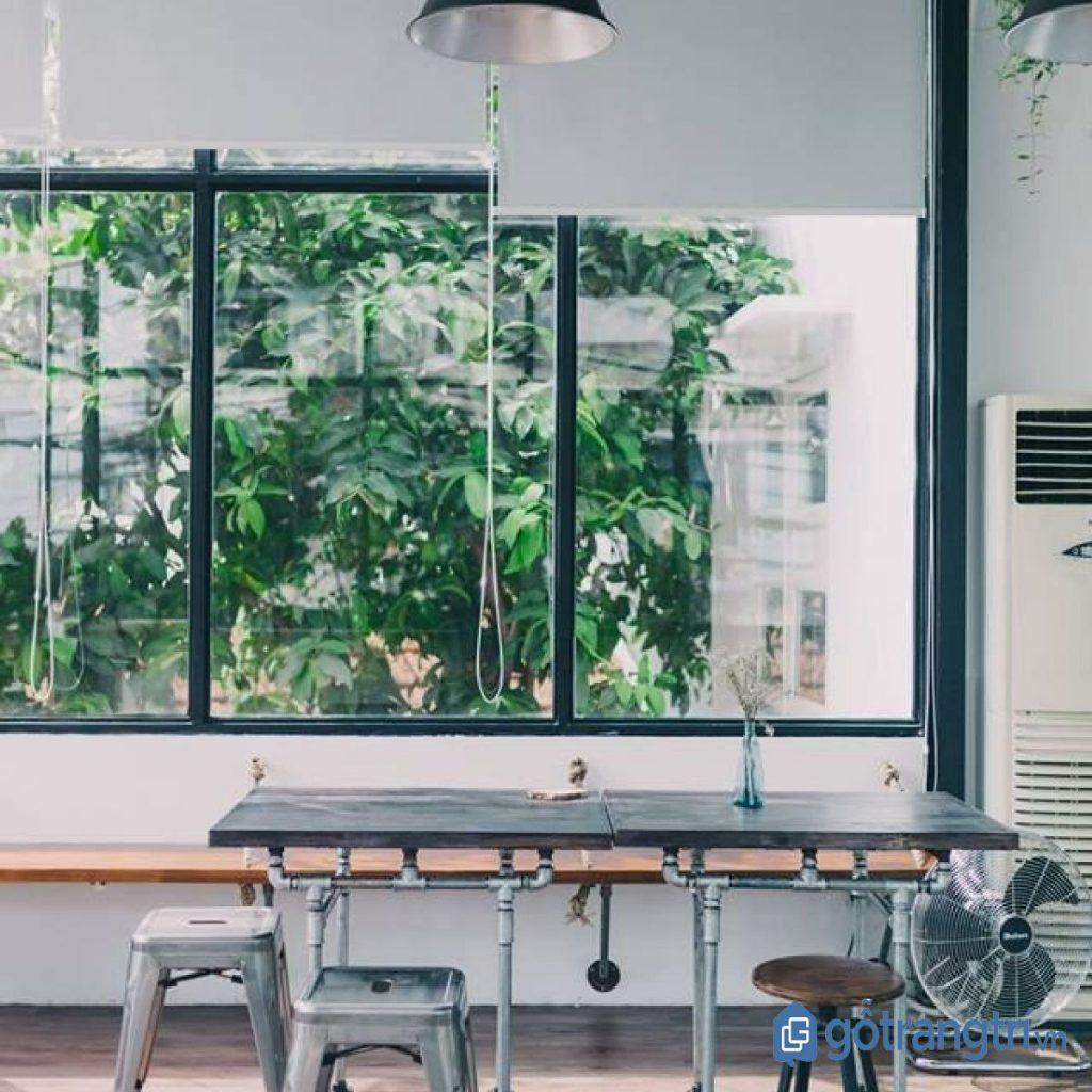 Quán cà phê đẹp dành cho dân văn phòng có không gian thoáng đãng. (Ảnh: internet)