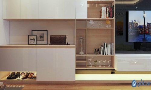 4 mẫu tủ giày hiện đại có thiết kế ấn tượng bạn không nên bỏ qua