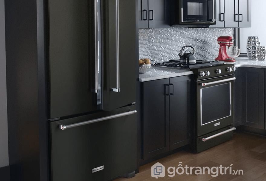Sử dụng màu xám đậm trong thiết kế nội thất hiện đại (ảnh internet)