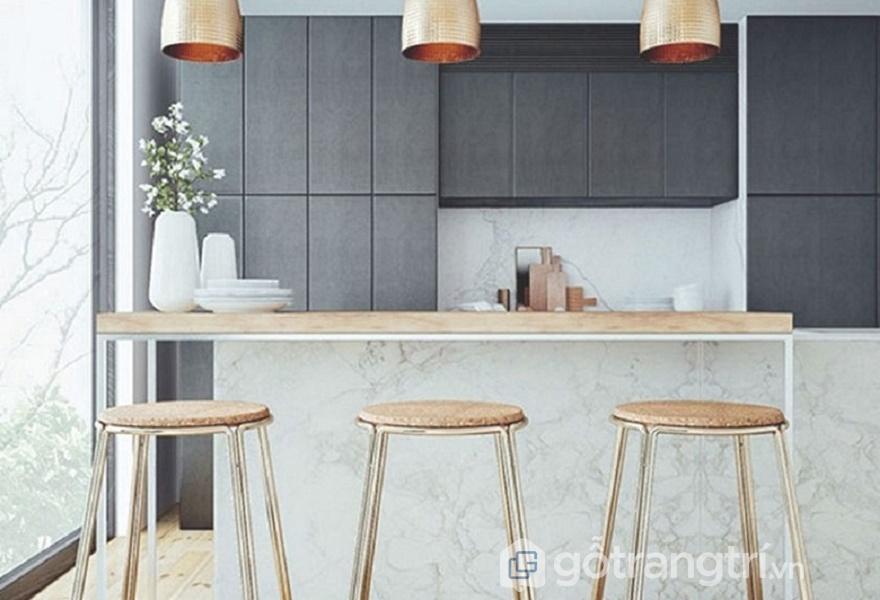 Ốp tường bằng đá cẩm thạch trong thiết kế nội thất hiện đại (ảnh internet)