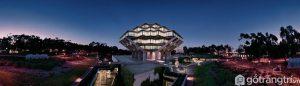 Thư viện đẹp Geisel có kiến trúc độc đáo - Ảnh internet