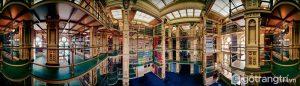 Thư viện đẹp ở Đại học St. Johnsbury - Ảnh internet