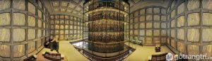 Thư viện đẹp Beinecke tại Đại học Yale - Ảnh internet