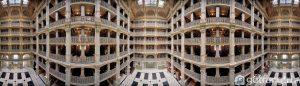 Thư viện George Peabody rộng lớn - Ảnh internet