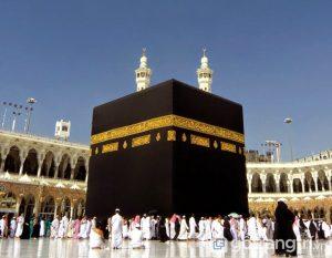 Tòa nhà nổi tiếng Kaaba - biểu tượng của người Hồi giáo (Ảnh internet)
