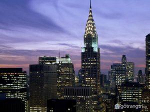 Empire State - Tòa nhà nổi tiếng với chiều cao kỷ lục (Ảnh internet)