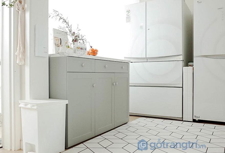 Những hình ảnh trong căn bếp trong căn hộ được trang trí nội thất theo mùa (nguồn: noithathomexinh)
