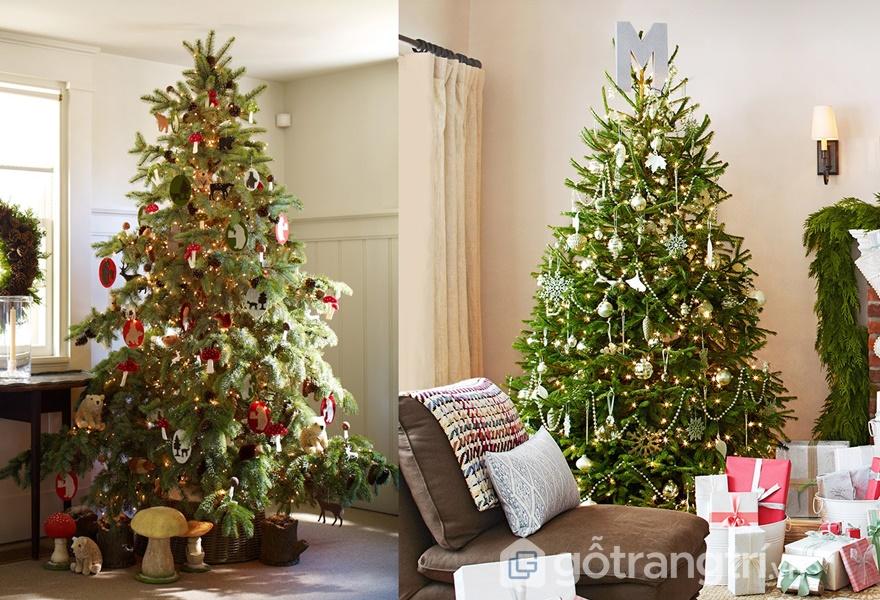 Trang trí văn phòng với cây thông Noel (Ảnh Internet)