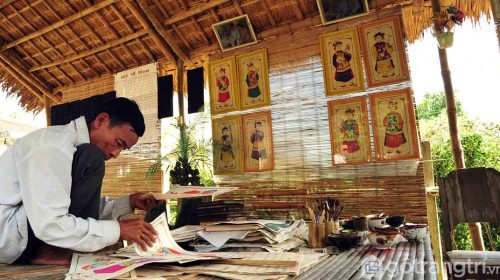 Tranh Đông Hồ - Hồi sinh tinh hoa của văn hóa dân gian Việt Nam