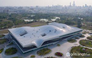 Toàn cảnh trung tâm nghệ thuật Quốc gia Cao Hùng (Ảnh internet)