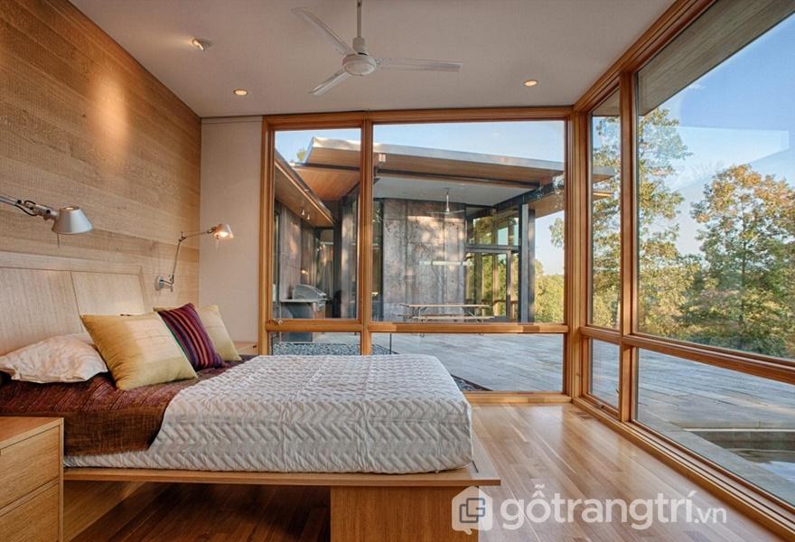 Căn phòng đẹp tinh tế, lãng mạn (Ảnh Internet)
