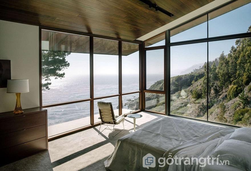 Thiết kế phòng ngủ sang chảnh với view đẹp khó cưỡng lại (Ảnh Internet)