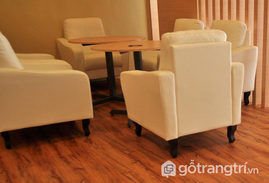 Ván sàn tre là loại vật liệu xây dựng xanh thân thiện với môi trường (Ảnh: Internet)