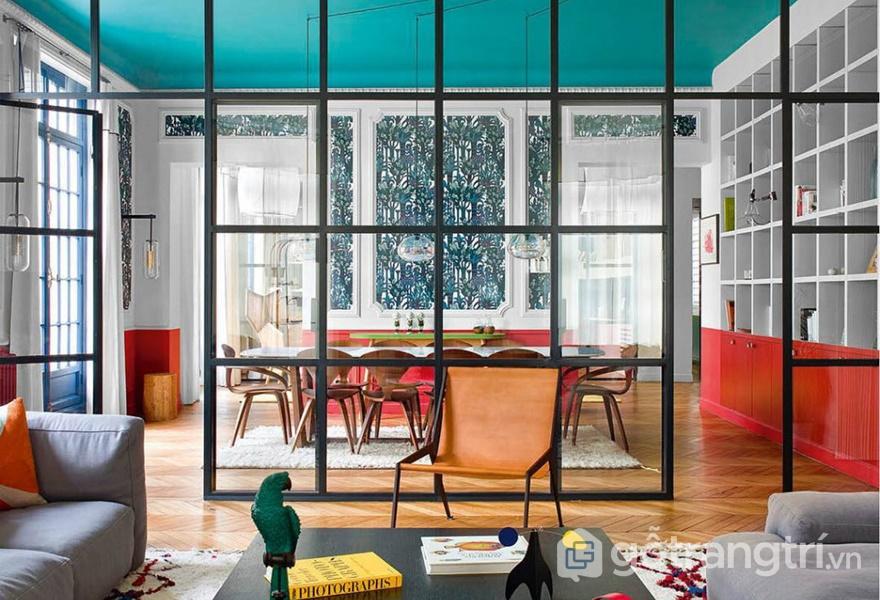 Xu hướng thiết kế nội thất với không gian nhiều màu sắc là nơi thư giãn lý tưởng (ảnh internet)