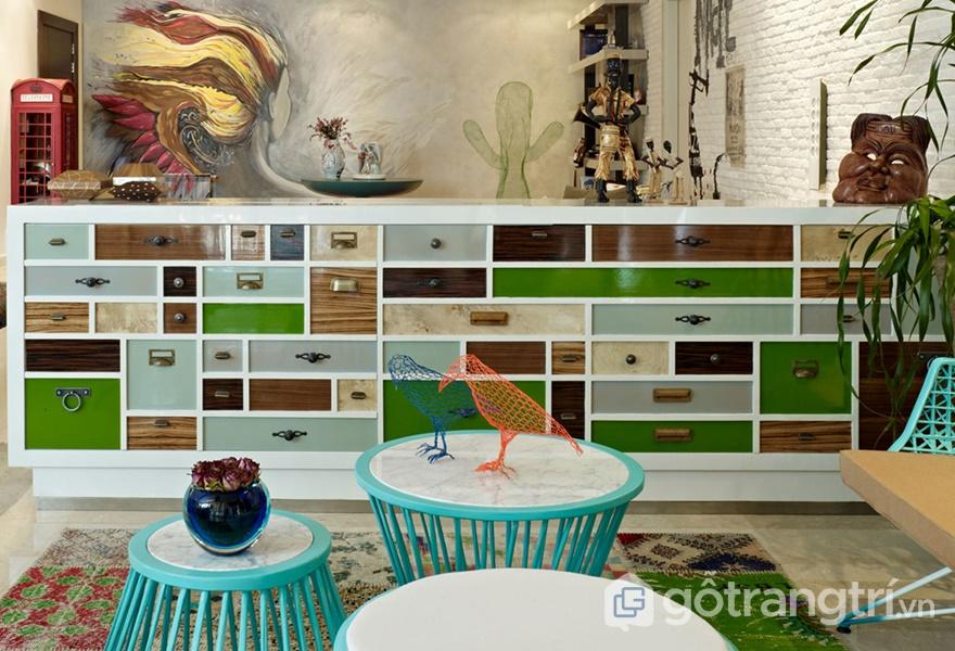 Cảm hứng từ màu sắc trong thiết kế căn hộ (ảnh internet)