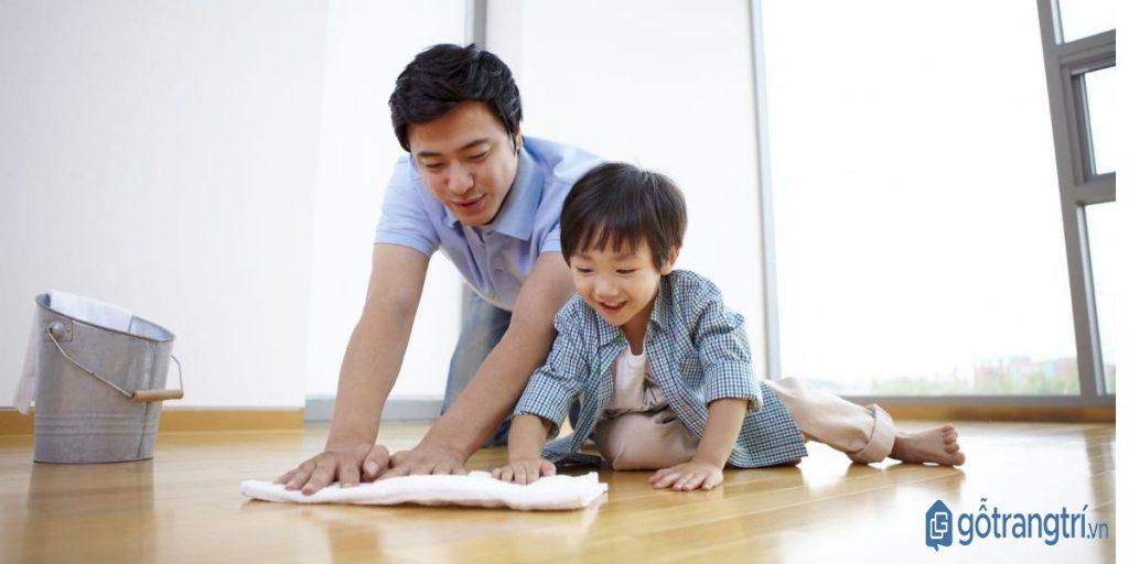 Dọn nhà đón Tết giúp các thành viên trong gia đình có thêm thời gian bên nhau. (ảnh: internet)