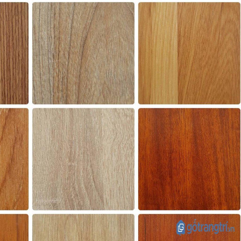 Ván MDF đa dạng về màu sắc hơn so với gỗ tự nhiên. (ảnh: internet)