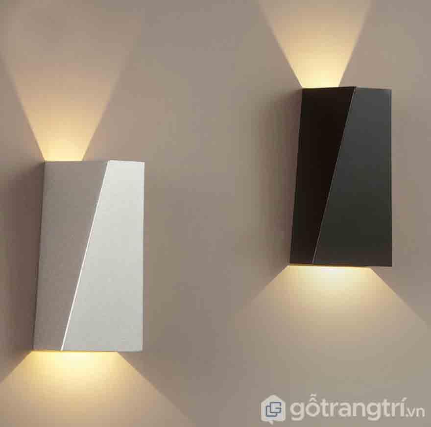 Đèn treo tường thiết kế đơn giản