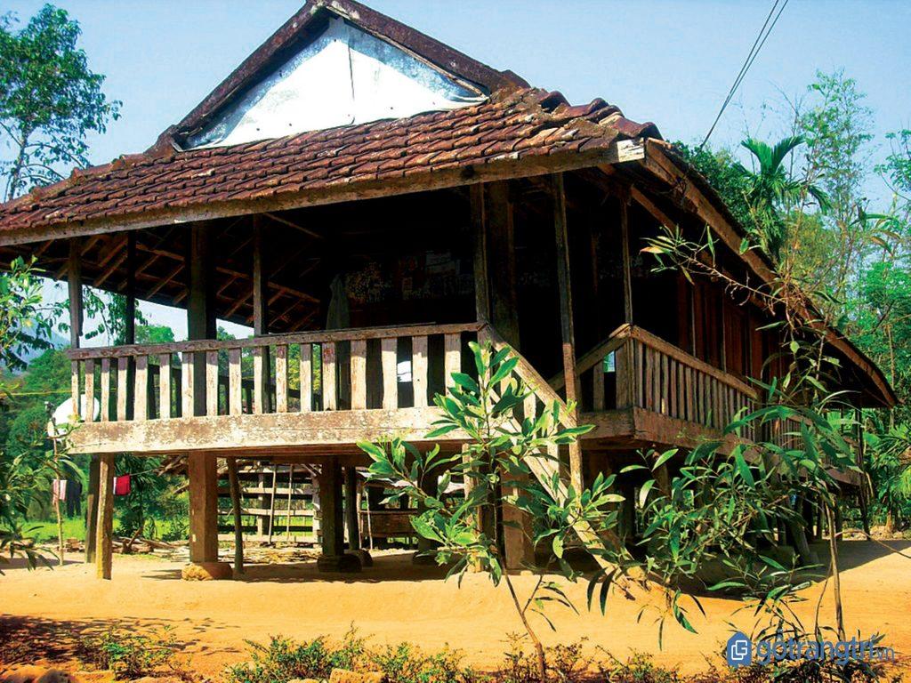Ngôi nhà truyền thống của người dân tộc Nùng. (ảnh: internet)