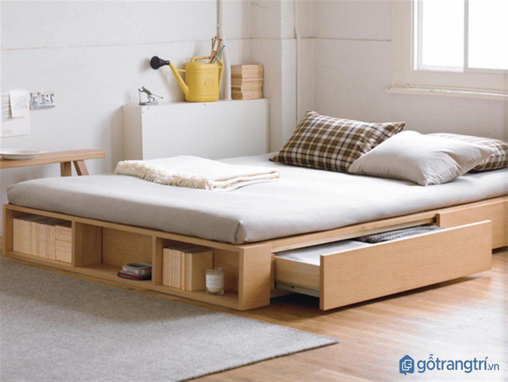 Giường ngủ thông minh đa chức năng cho phong cách nội thất tối giản. (ảnh: internet)