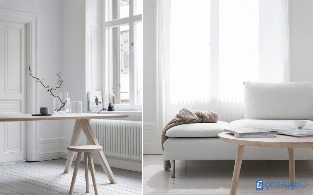 Phong cách tối giản có tính ứng dụng cao, phù hợp những không gian sống hiện đại. (ảnh: internet)