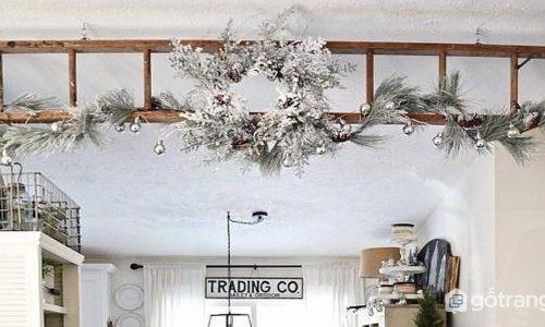 Mách bạn những ý tưởng độc đáo khi trang trí nhà bằng thang cực thú vị