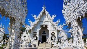 Ubosot - tòa nhà quan trọng nhất của Wat Rong Khun - Ảnh internet