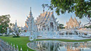 Wat Rong Khun là biểu tượng văn hóa quốc gia của đất nước Thái Lan. - Ảnh internet