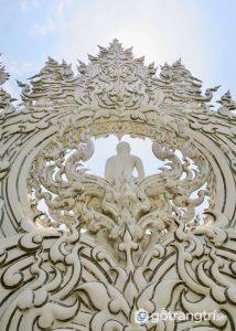 Cho tới nay, ngôi chùa Wat Rong Khun vẫn chưa được hoàn thiện toàn bộ - Ảnh internet