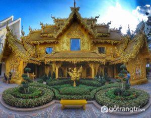 Tòa điện Vàng là nhà vệ sinh lung linh nhất thế giới - Ảnh internet