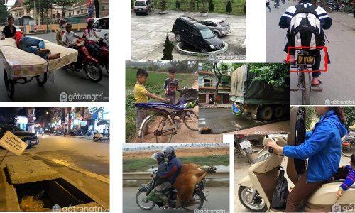 Những hình ảnh hài hước chỉ có thể thấy tại đường phố Việt Nam