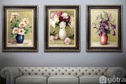 5 ý tưởng thiết kế phòng khách hiện đại với tranh trang trí