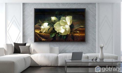 [Tư vấn] 20+ mẫu tranh trang trí phòng khách chung cư triệu lượt view