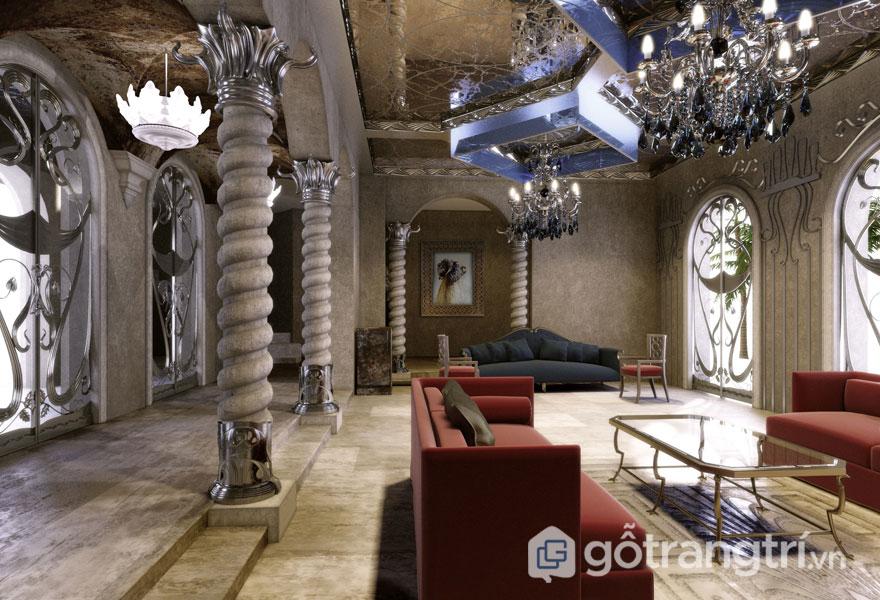 Tìm hiểu phong cách thiết kế Art Deco trong trang trí nội thất (Ảnh: Internet)
