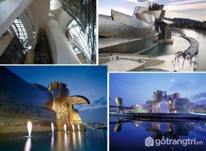 Bảo tàng Guggenheim Bilbao, Tây Ban Nha là một trong những tòa nhà có kiến trúc tuyệt vời nhất trên thế giới - Ảnh internet