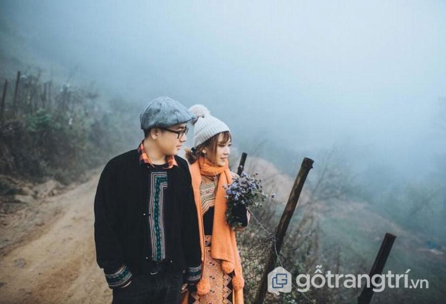 Thanh mai chúc mã chụp ảnh cưới tại núi Hàm Rồng (ảnh: internet)