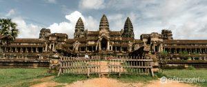Hình ảnh quần thể đền Angkor Wat - Ảnh internet