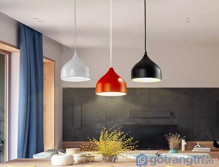 Đèn thả trần bàn ăn