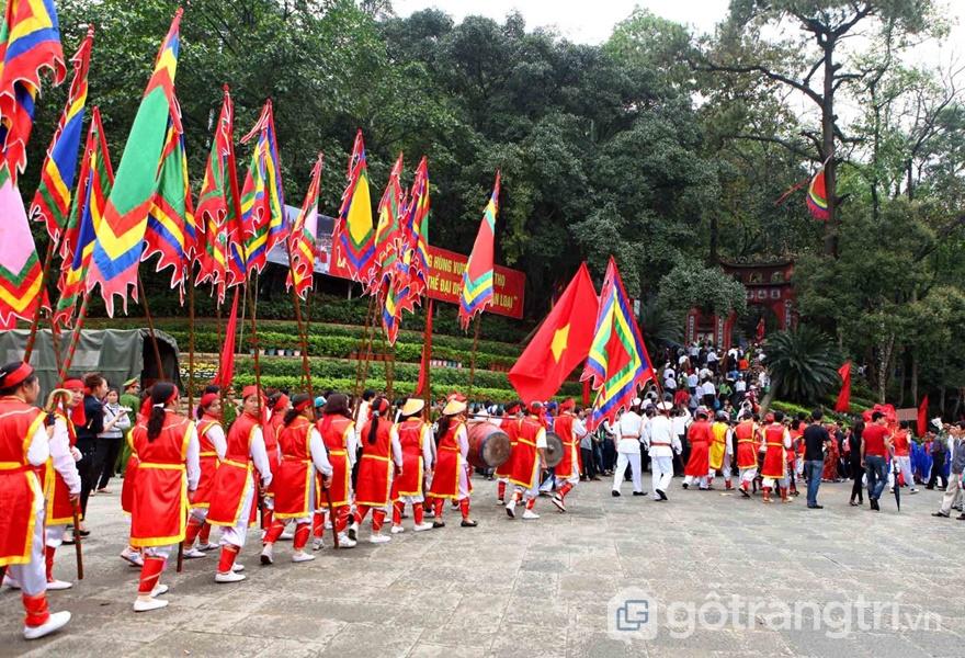 Lễ dâng hương các vua Hùng (ảnh internet)
