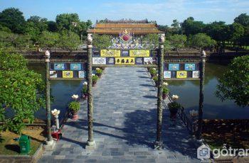 Điện Thái Hòa - Đỉnh cao của nghệ thuật kiến trúc cung đình Huế