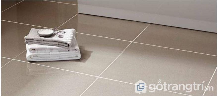 Gạch lát nền nhà tắm - Ảnh: Internet