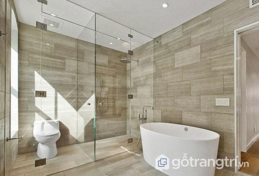 Gạch lát trang trí: Phòng tắm (Ảnh: Internet)