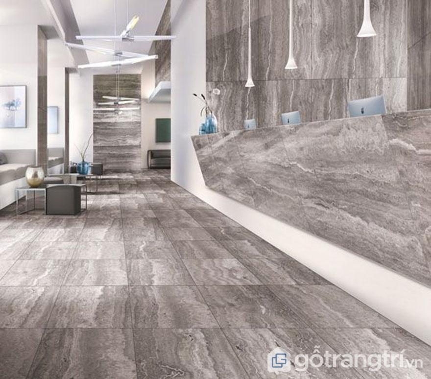 Gạch vân đá tự nhiên cho không gian nhà đẹp (Ảnh: Internet)