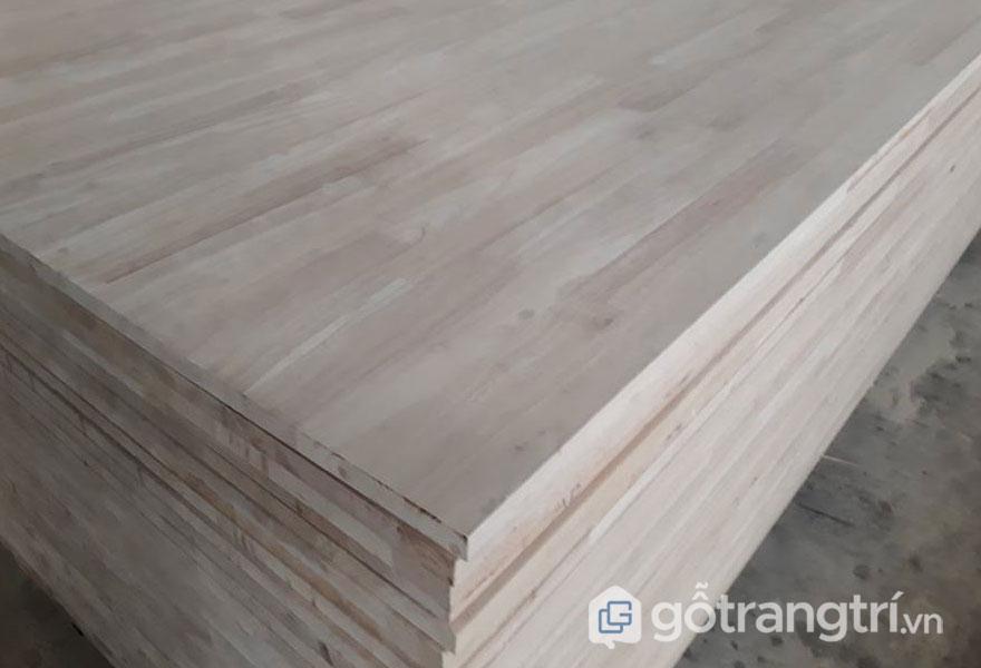 Ưu nhược điểm của gỗ tự nhiên ghép thanh (Ảnh: Internet)