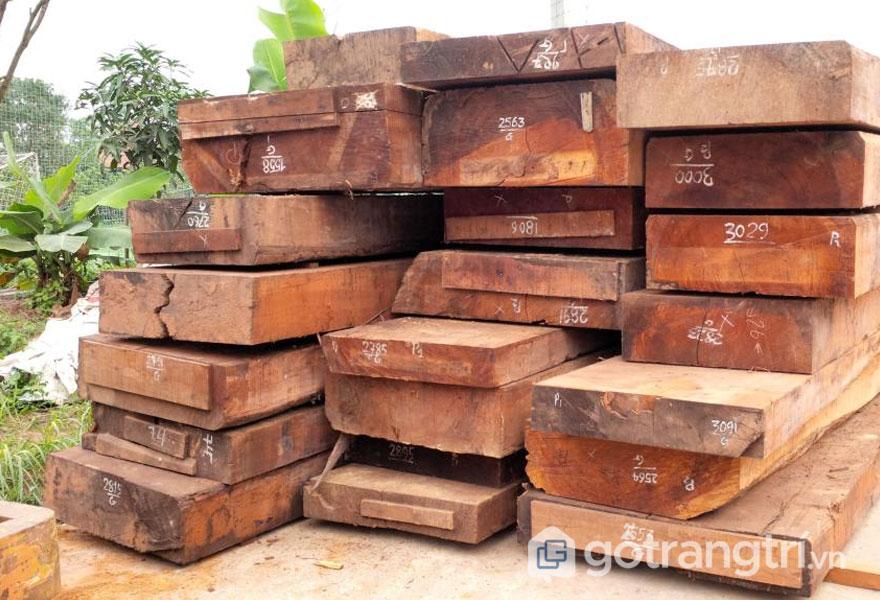 Ứng dụng dòng gỗ gụ trong sản xuất nội thất 2019 (Ảnh: Internet)