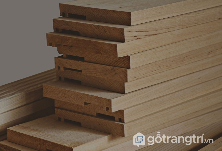 Gỗ keo tự nhiên là gì? Ứng dụng của gỗ keo trong thi công nội thất (Ảnh: Internet)