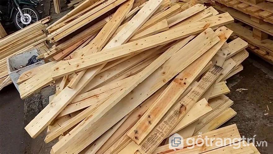 Pallet gỗ (Ảnh: Internet)